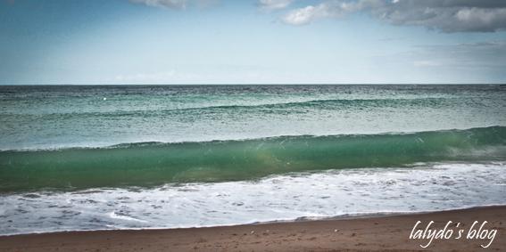 vagues plage du verger 1