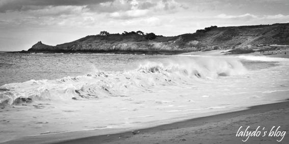 vagues plage du verger  2