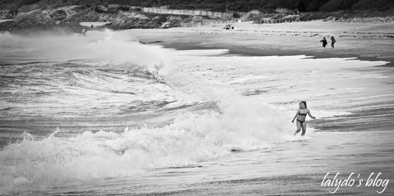 vagues plage du verger  6
