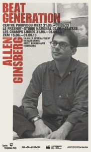 affiche beat generation ginsberg