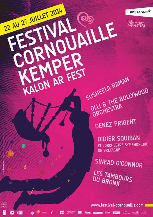 festival cornouaille quimper affiche 3 bzh