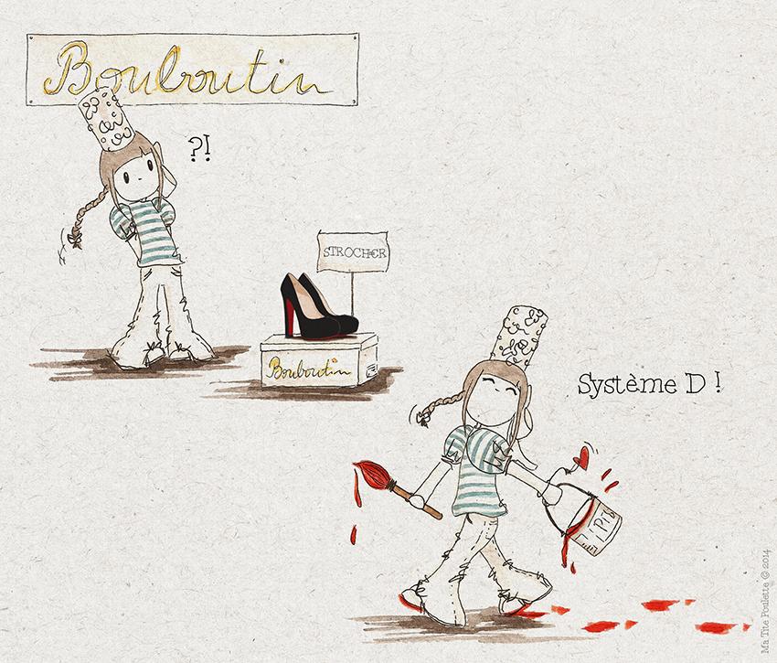 Ma Tite Poulette - Bouboutin