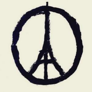 tour eiffel peace and love