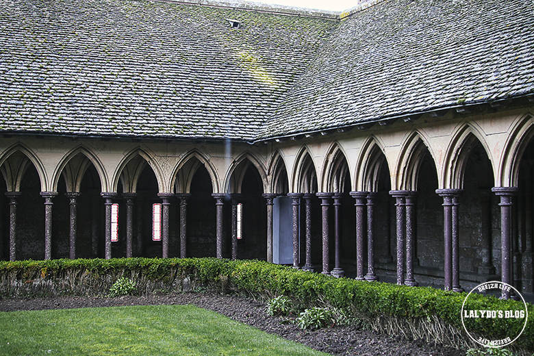 cloitre abbaye mont saint michel lalydo blog 2