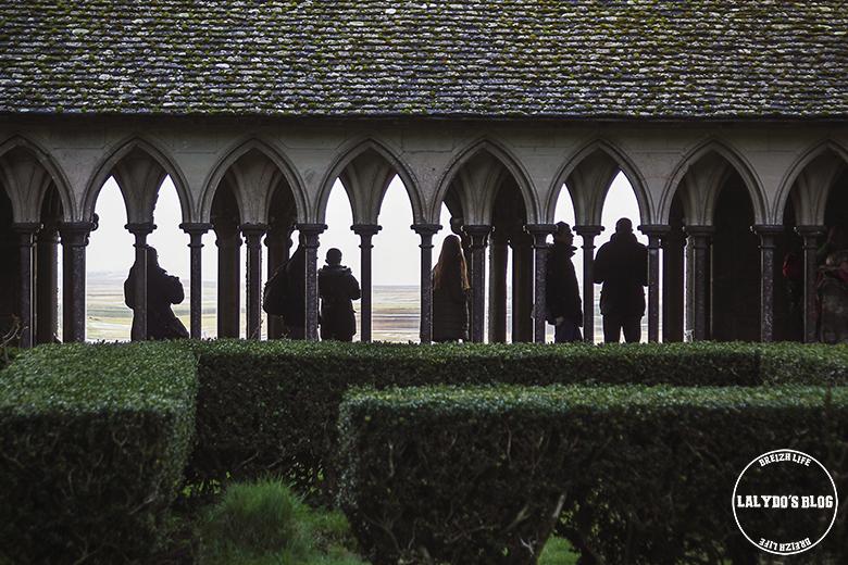 cloitre abbaye mont saint michel lalydo blog 3