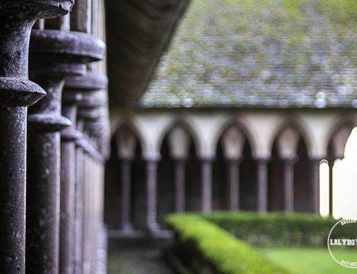 cloitre abbaye mont saint michel lalydo blog