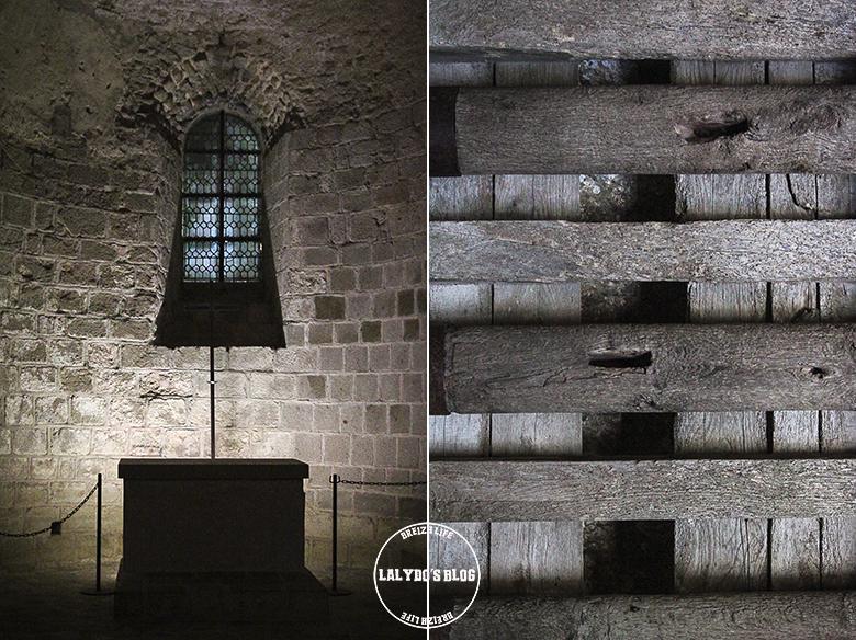 détails abbaye mont saint michel lalydo blog