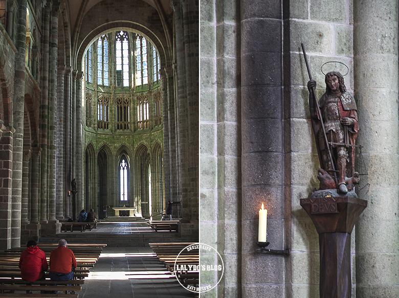 eglise abbaye mont saint michel lalydo blog