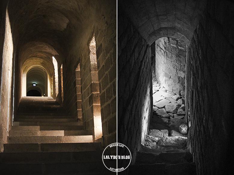 escaliers abbaye mont saint michel lalydo blog
