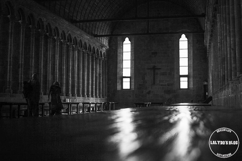 refectoire abbaye mont saint michel lalydo blog 2