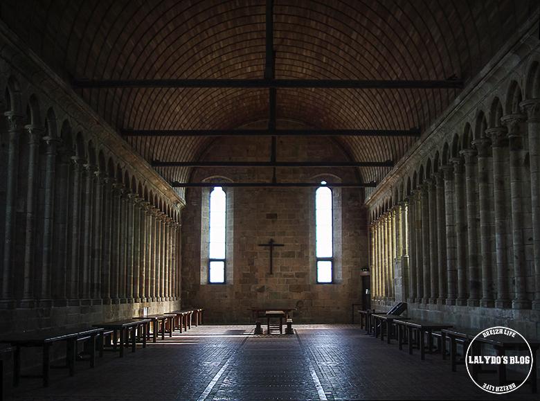refectoire abbaye mont saint michel lalydo blog