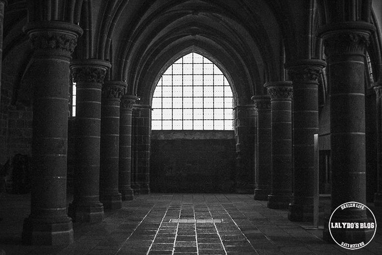 salle abbaye mont saint michel lalydo blog