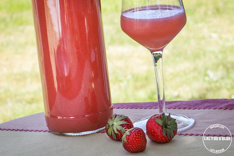 vin de fraises lalydo blog