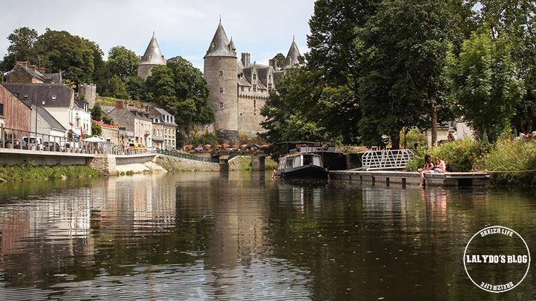 canal et chateau josselin lalydo blog 5