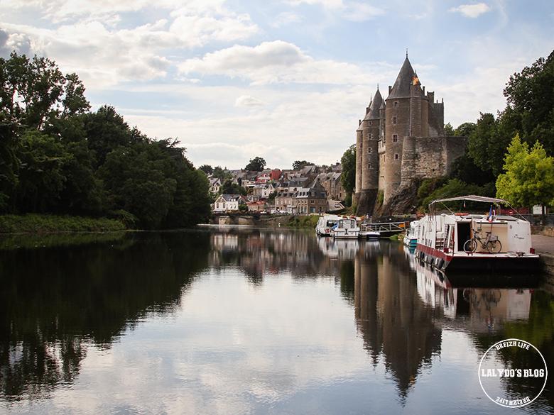 canal et chateau josselin lalydo blog