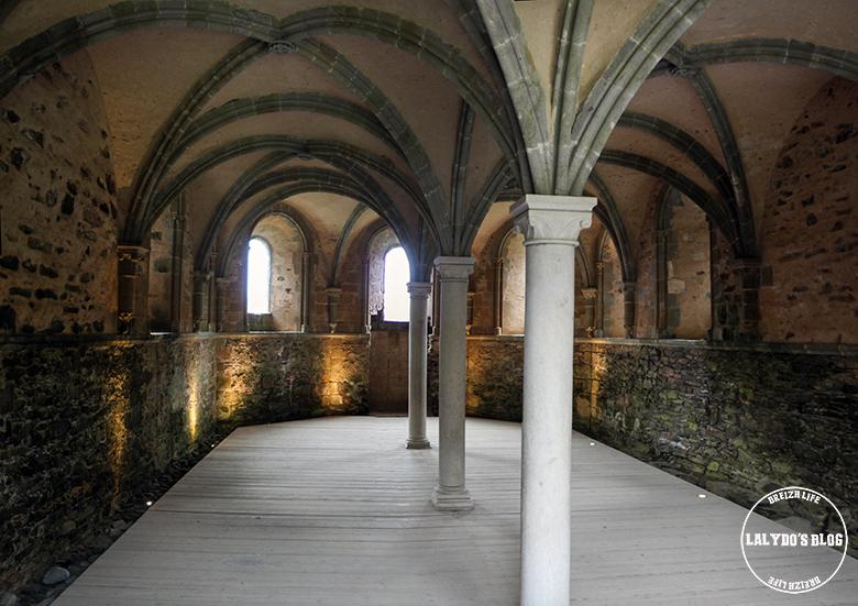 abbaye de beauport salle capitulaire lalydo blog