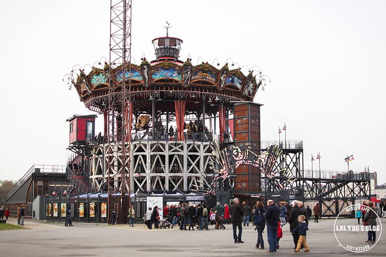 machines de l'ile carrousel des mondes marins lalydo blog