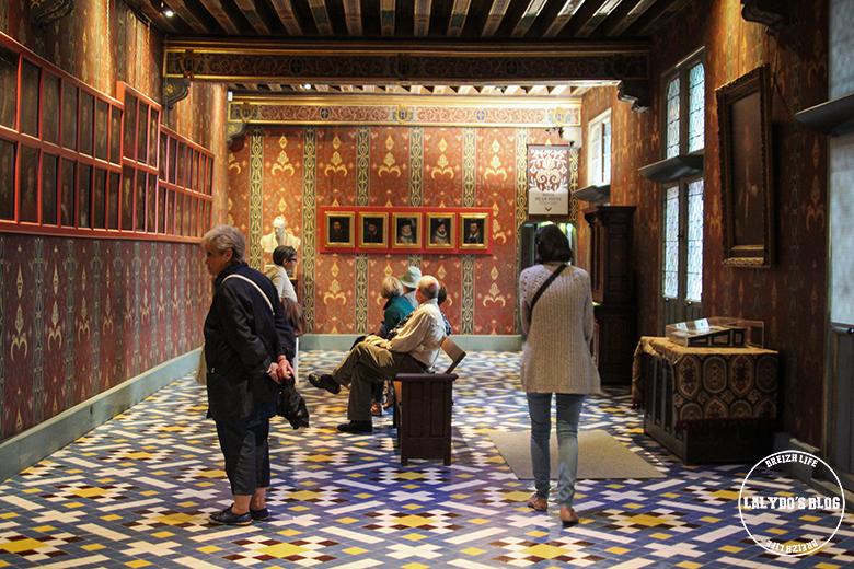 chateau blois galerie de la reine lalydo blog