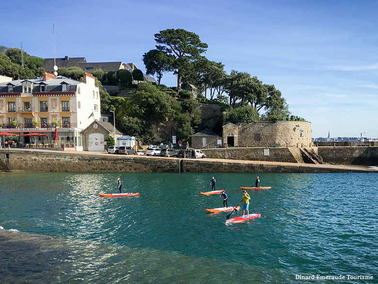 dinard en stand up paddle lalydo 20