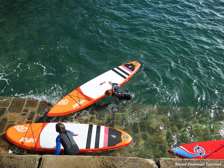 dinard en stand up paddle lalydo 25