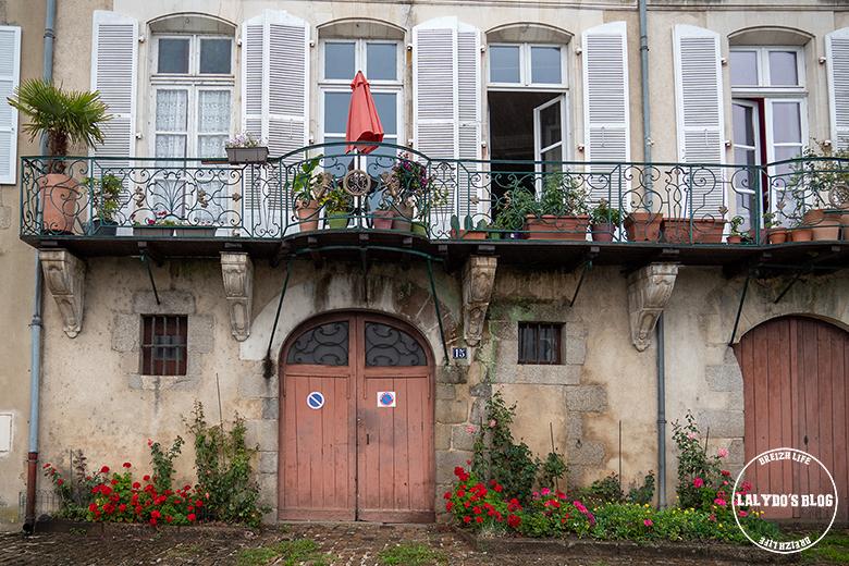 Redon maisons quai 1