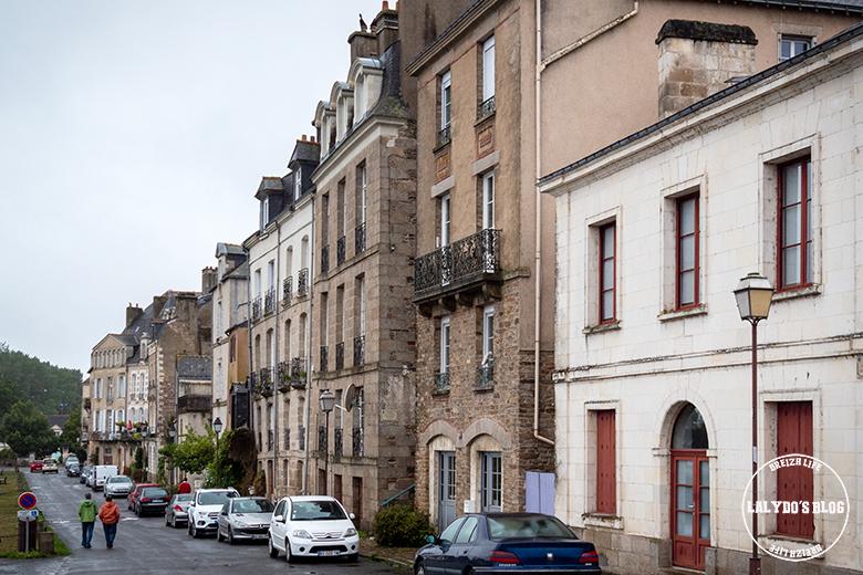 Redon maisons quai 2